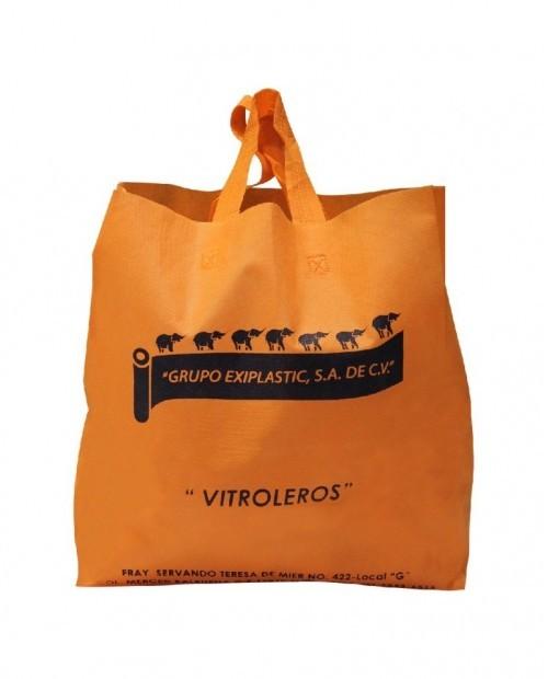 Bolsa promocional para compras, Grupo Exiplastic Vitroleros.
