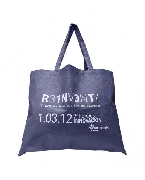 Bolsa promocional para compras, Reinventa.