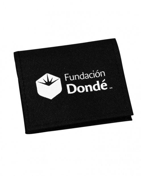 Monedero publicitario, Fundación Dondé.