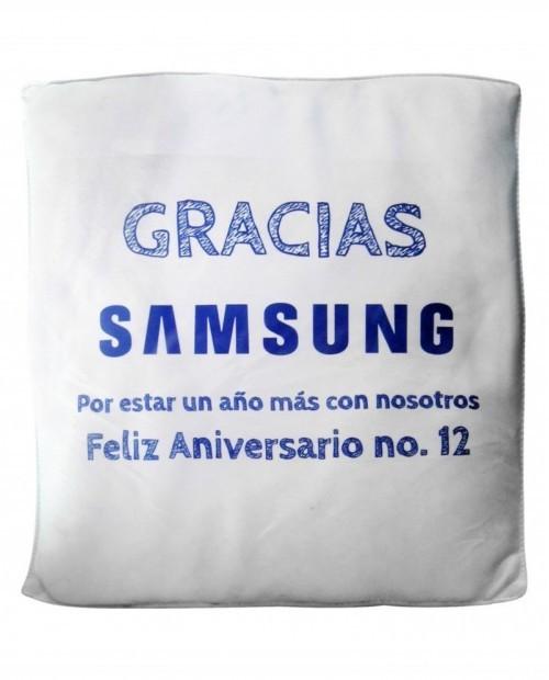 Cojín promocional, Samsung