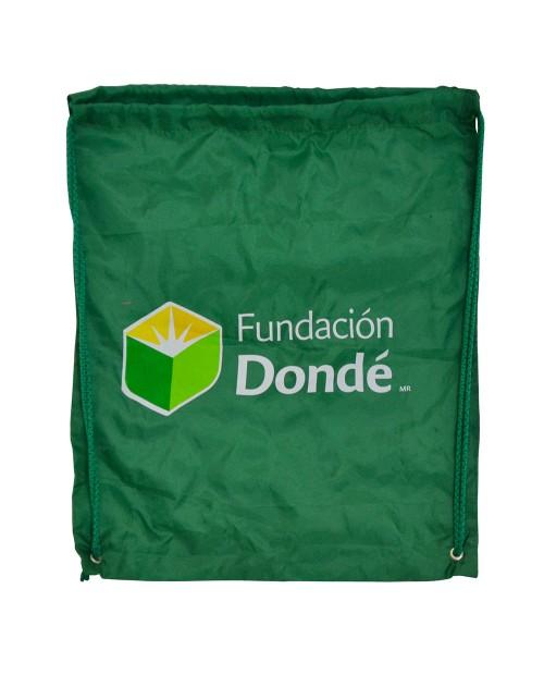 Morral promocional, Fundación Dondé